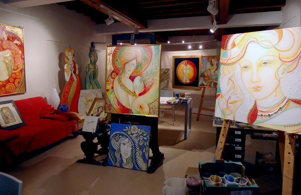 The atelier in Feltre